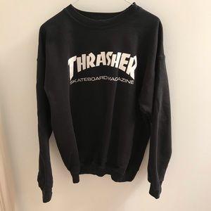 THRASHER black men's sweater